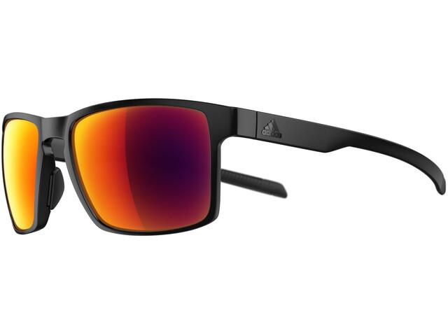 adidas Wayfinder Glasses black matt/red mirror